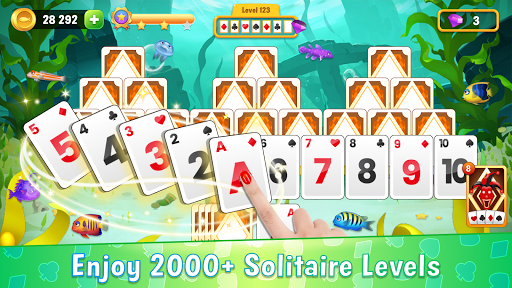 Solitaire Ocean - Card Games, Klondike & Tripeaks  screenshots 1