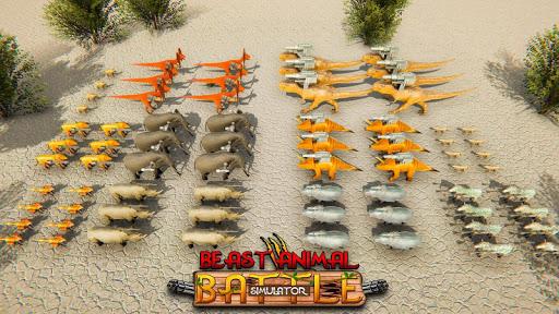 Beast Animals Kingdom Battle: Dinosaur Games 2.6 screenshots 23