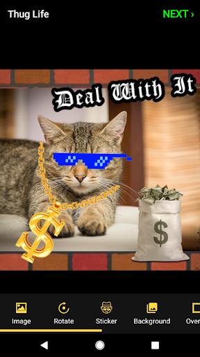 Thug Life Stickers: Pics Editor, Photo Maker, Meme android2mod screenshots 3