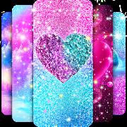 Glitter galaxy live wallpaper