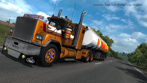 American Truck Real Driving Cargo Simulator 2021 apkpoly screenshots 1