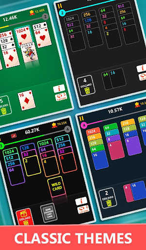 Code Triche 2048 Solitaire Card Game - 2048 Zen Cards (Astuce) APK MOD screenshots 3