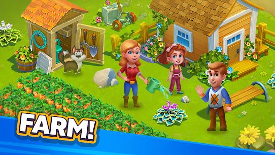Free Golden Farm   Idle Farming  Adventure Game Apk Download 2021 5