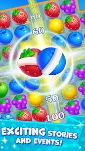 New Fruit Match 3 : Princess Fruit Garden Match 1.5.0 Android APK Mod Newest 2