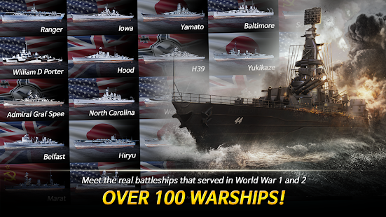 Warship Fleet Command : WW2 Naval War Game 2.01803 Screenshots 10