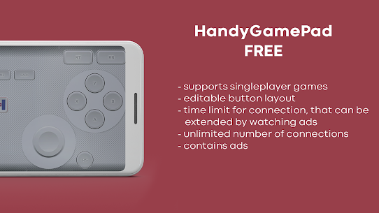 HandyGamePad PRO – mobile gamepad and joystick (MOD APK, Paid) v4.19-pro 4