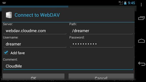 WebDAV for Ghost Commander Apk 2