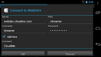WebDAV for Ghost Commander