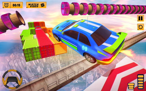 Impossible Stunts Car Racing Games: Spiral Tracks apklade screenshots 2