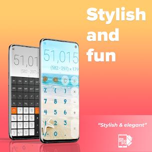Stylish Calculator Free – CALCU™ 4.1.2 APK + MOD Download 2