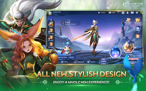 CL:Champions Legion | 5v5 MOBA 1.22.0 screenshots 6