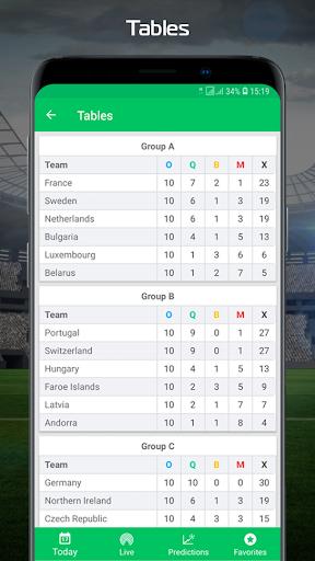 Football.Biz Live Score 2.0.2 Screenshots 3