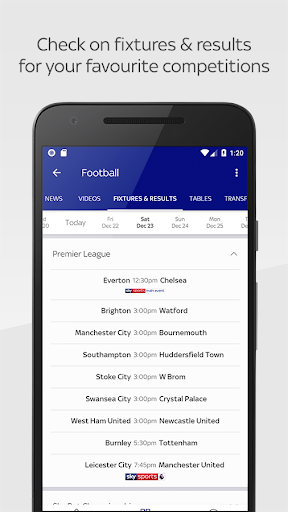 Sky Sports International 1.0.0 Screenshots 4