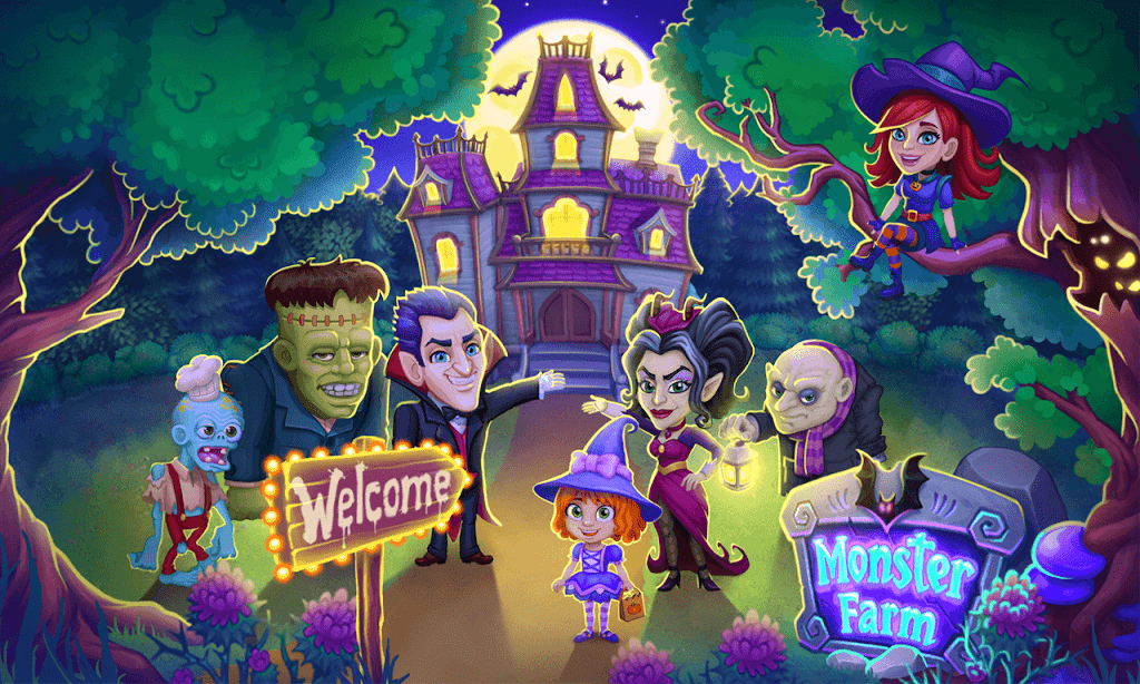 Monster Farm - Happy Ghost Village - Witch Mansion poster 8