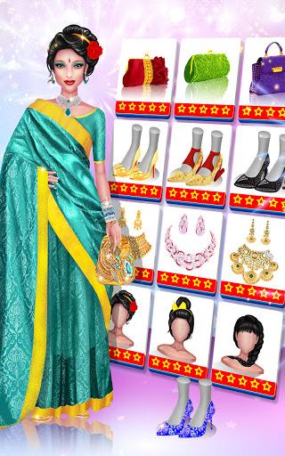 Wedding Fashion Stylist: Indian Dress up & Makeup 1.0 screenshots 22