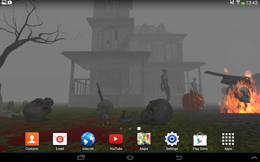 3D Halloween Live Wallpaper For PC Windows (7, 8, 10, 10X) & Mac Computer Image Number- 16