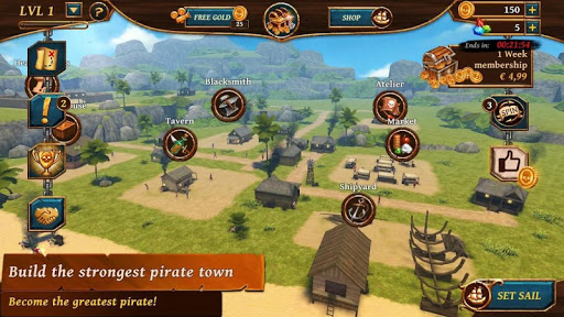 Ships of Battle - Age of Pirates - Warship Battle 2.6.28 Screenshots 16