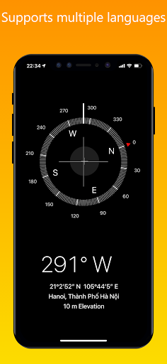 iCompass - iOS Compass, iPhone style Compass
