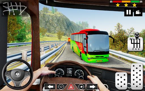 Mountain Bus Simulator 3D apkmartins screenshots 1