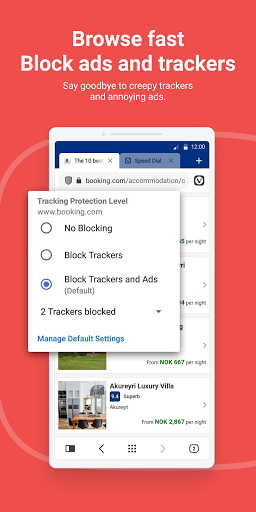 Vivaldi: Private Browser for Android apktram screenshots 5