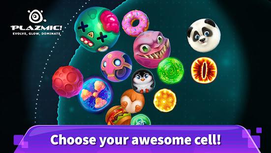 Plazmic! Eat Me io Blob Cell Grow Game 1.16.1 screenshots 2