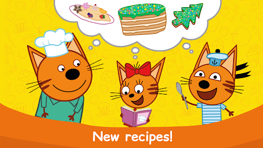 Kid-E-Cats: Cooking for Kids with Three Kittens!  screenshots 2