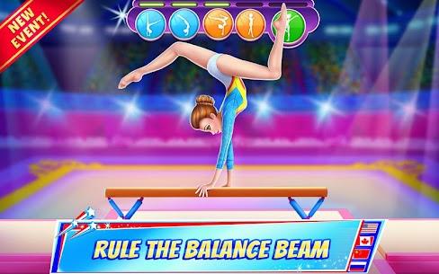 Jimnastik Süper Yıldız – Dönerek altına git! Full Apk İndir 3