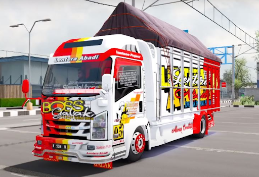 Truck Simulator Indonesia : Livery Truck Bussid 4.0 screenshots 3