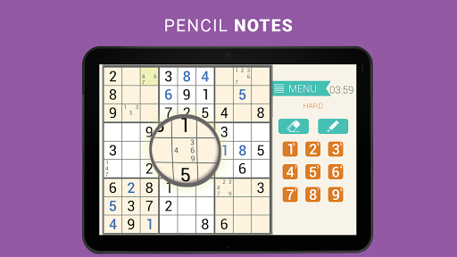 Sudoku classic   Free puzzle game   Easy sudoku 3.8.3 screenshots 13