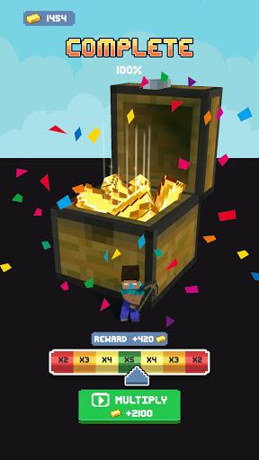 Craft Runner - Miner Rush: Building and Crafting  screenshots 23