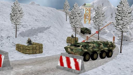 Off-road Jeep Drive-Winter Season Simulator 1.7 screenshots 6
