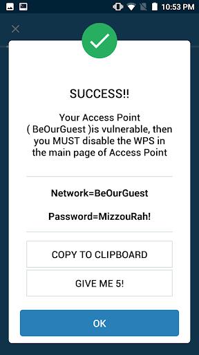 WIFI WPS WPA TESTER 4.0.3 screenshots 7