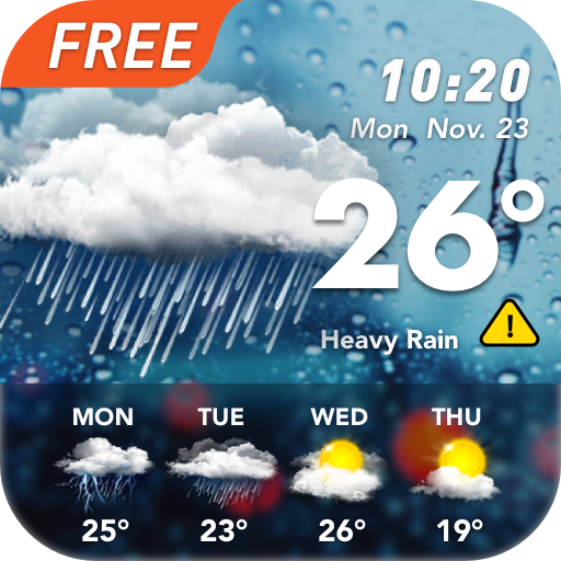 Accurate Weather: Weather Forecast, Weather Widget