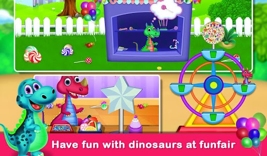 Dinosaur World Educational fun Games Screenshot