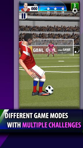 real free kicks 3d soccer game - penalty shootout screenshot 2