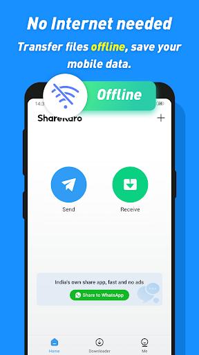 Share Karo Lite - Share & File Transfer, Shareit apktram screenshots 5