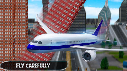 Flying Plane Flight Simulator 3D - Airplane Games modavailable screenshots 2