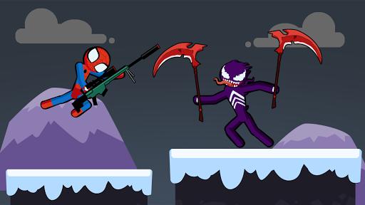 Spider Stickman Fighting 3 - Supreme Duelist Apkfinish screenshots 4
