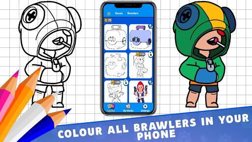 Coloring for Brawl Stars 0.1 screenshots 1