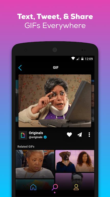GIPHY: GIF & Sticker Keyboard & Maker  poster 3