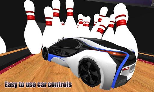 Ultimate Bowling Alley:Stunt Master-Car Bowling 3D APK MOD – Monnaie Illimitées (Astuce) screenshots hack proof 2