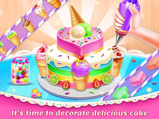 Ice Cream Cake Maker: Dessert Chef  Screenshots 9