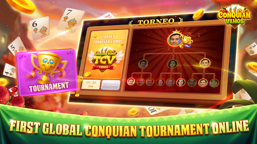 Conquian Vamos - The Best Card Game Online android2mod screenshots 4