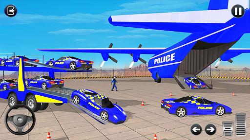 Grand Police Vehicles Transport Truck  Screenshots 4