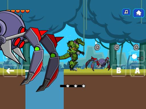 Robot Crocodile Toy Robot War  screenshots 11
