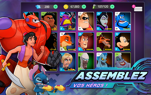 Code Triche Disney Heroes: Battle Mode apk mod screenshots 2