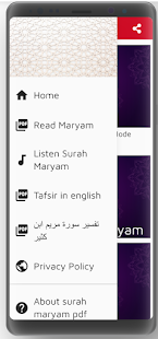 surah maryam pdf 1.0 APK + Modificación (Unlimited money) para Android