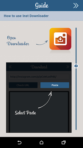 downloader for instagram: photo & video saver screenshot 2