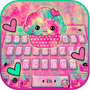 Tasty Cupcake Keyboard Theme