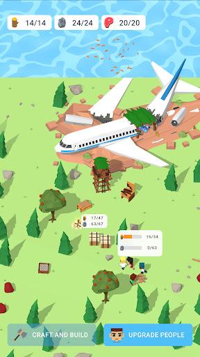 Isle Builder: Click to Survive apkdebit screenshots 3